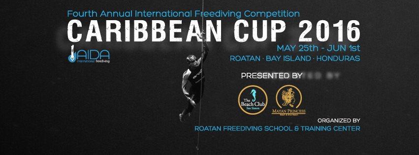 Caribbean cup 2016 freediving Roatan honduras