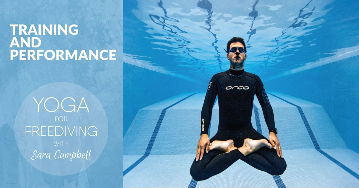 Freediving training and performance with Sara Campbell