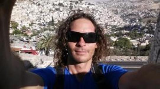 Jonny Sunnex Vertical Blue 2014