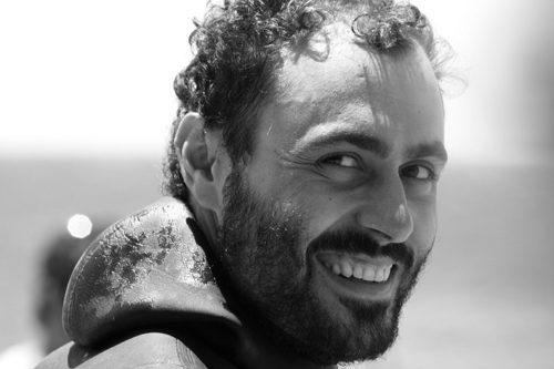 Miguel Lozano Spanish freediving record holder