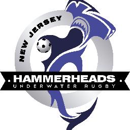New Jersey Underwater Rugby Hammerheads logo
