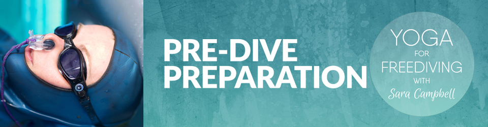 Sara Campblee Pre-dive preparation programm for freediver