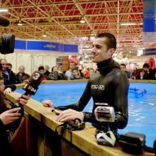 Aleix Segura, Guinness world record Static