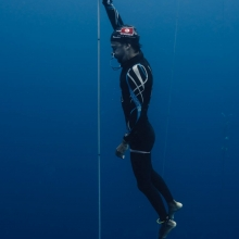 Walid Boudhiaf 103M FIM Nirvana Onceanquest freediving competition Colombia