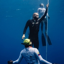 David Velasquez Nirvana Onceanquest freediving competition Colombia