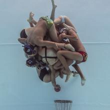 In Water Photographer of the Year Category winner Underwater Rugby Colombian Team by Camilo Diaz