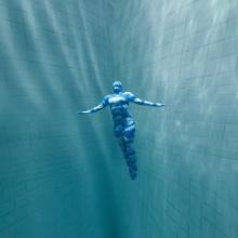 Freediving, Picture by Daan Verhoeven