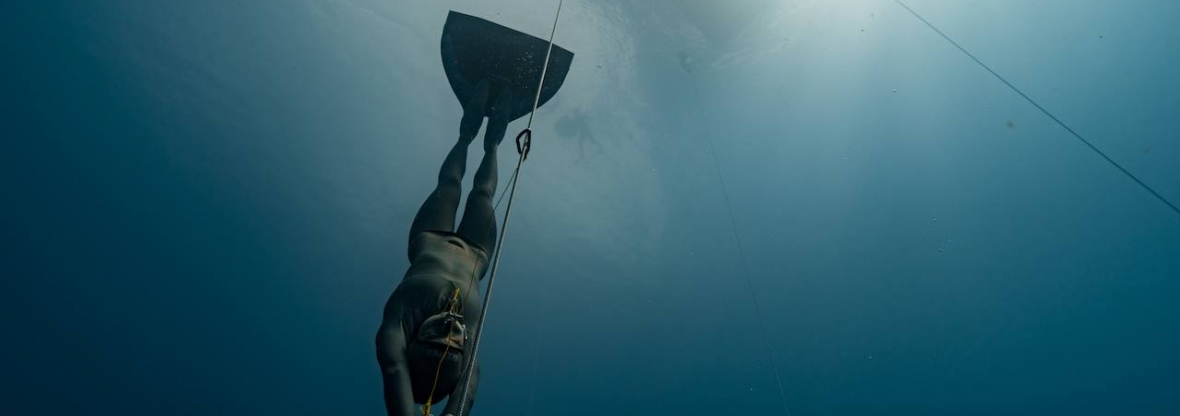 Blue element Freediving competition in Dominica 2016