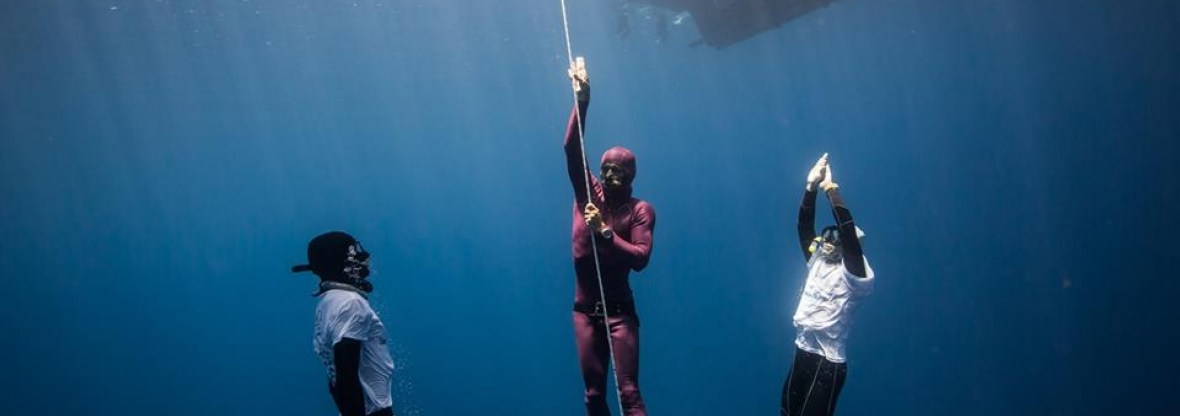 Caribbean cup 2016 freediving competition in Roatan