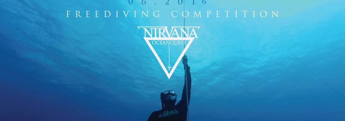 Nirvana Oceanquest freediving competition in San Andres Colombia
