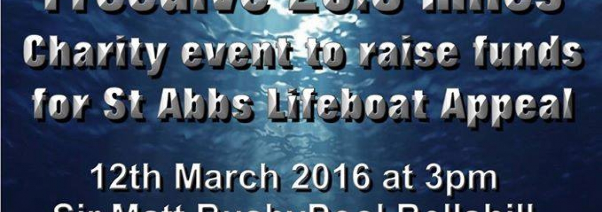 Apneists UK Freedive Club Swim British Channel Length for St Abbs Lifeboat