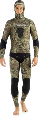 cressi tecnica brown camo spearfishing wetsuit