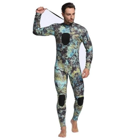 dyung tec camo spearfishing wetsuit