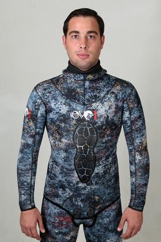 evo1 sub impermeaflex camo wetsuit