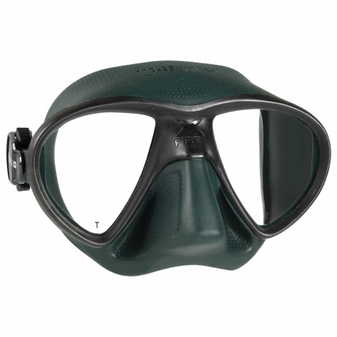 mares x free freedive spearfishing mask