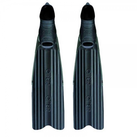 omer stingray short freediving spearfishing and snorkeling fins