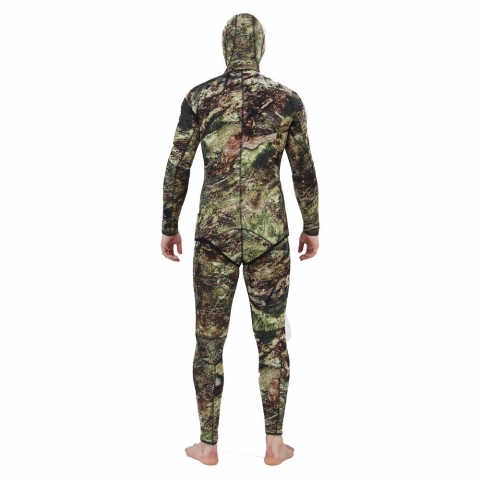 Realon Green Camo Spearfishing Wetsuit