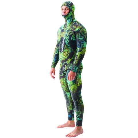 Riffe Digi Tek Green Camo Spearfishing Wetsuit
