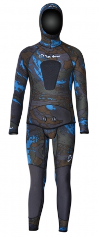 rob allen dual camo spearfishing wetsuit