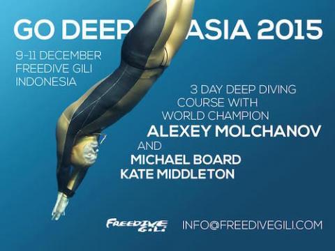 Go Deep Asia 2015 FreediveGili