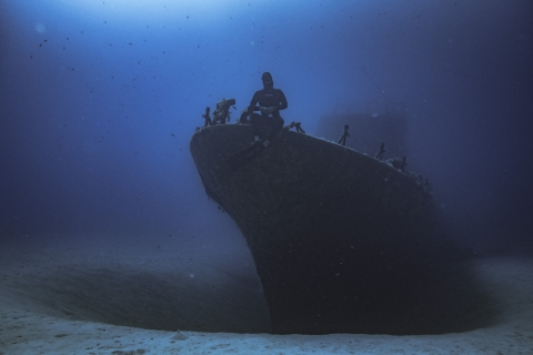 After a day of Training, this can be you sitting there on the wreck.