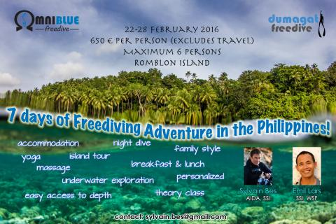 7 Days of Freediving Adventure in the Philippines