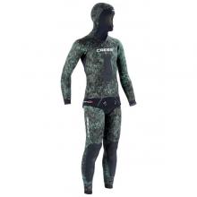 cressi scorfano green camo spearfishing wetsuit