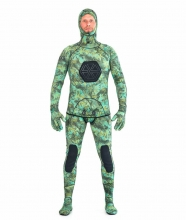 hecs green custom spearfishing wetsuit
