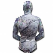 hi heat rock steady camo spearfishing wetsuit