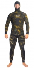 Mako Reef Camo Brown Spearfishing Wetsuit