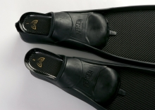 Molchanovs Bifins C1 with Immersion Foot Pockets + Carbon Inserts