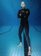 Molchanovs Men's Performance Hoodless Freediving Wetsuit
