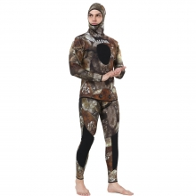 realon brown camo spearfishing wetsuit