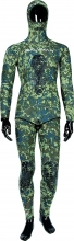 salvimar nat green camo spearfishing wetsuit