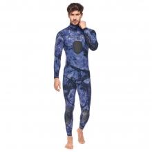 seacsub makaira blue camo spearfishing wetsuit