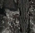 omer black stone camo close up wetsuit pattern