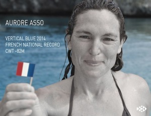 Aurore Asso french nation record CWT